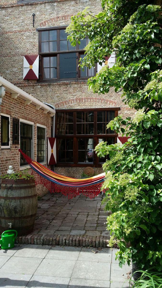 Garden B&B Lant van Beloften Vlissingen Zeeland Vakantiewoning Ferienwohnung Strand Bed and Breakfast