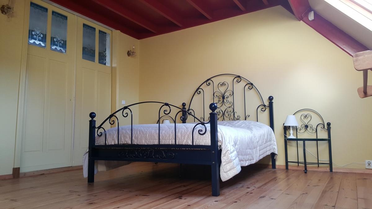 Slaapkamer B&B Lant van Beloften Vlissingen Zeeland Vakantiewoning Ferienwohnung Strand