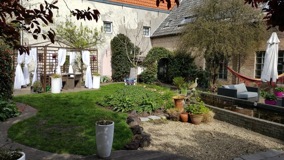View Tuin B&B Lant van Beloften Vlissingen Zeeland Vakantiewoning Ferienwohnung