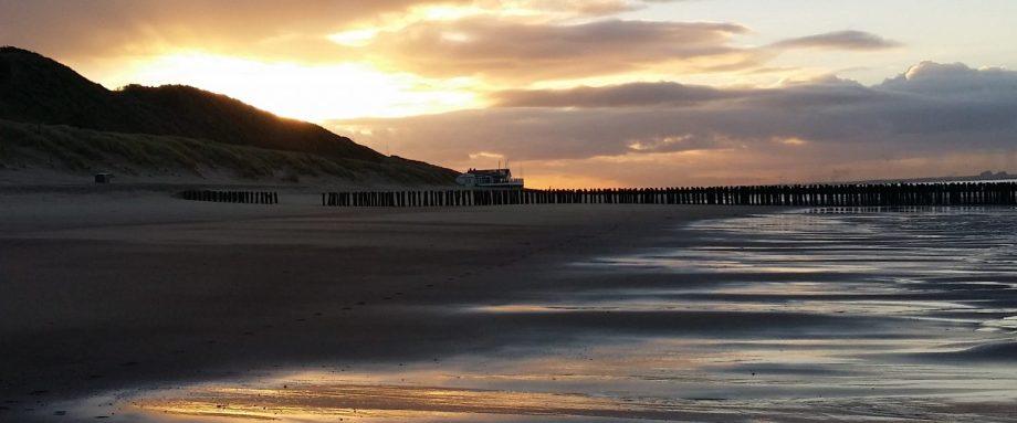 Zon, zee, strand, B&B Lant van Beloften Vlissingen Zeeland Vakantiewoning Ferienwohnung