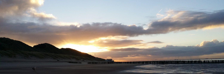 Strand, zee, zon, B&B Lant van Beloften Vlissingen Zeeland Vakantiewoning Ferienwohnung